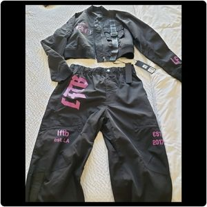 Fashion sweat suit